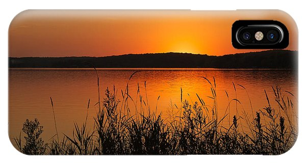 Silent Sunset IPhone Case