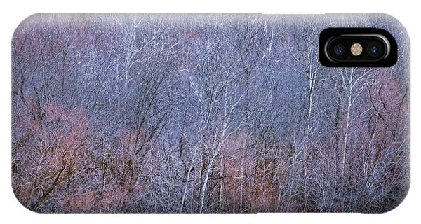 Silent Trees IPhone Case