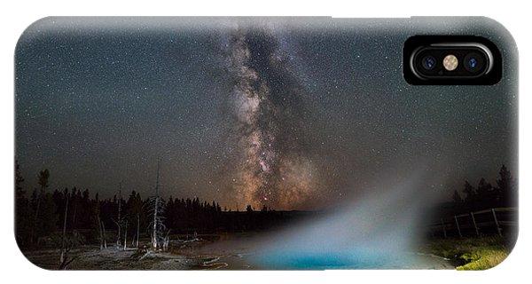 Silex Spring Milky Way  IPhone Case