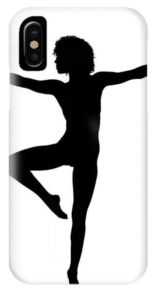 Silhouette 24 IPhone Case