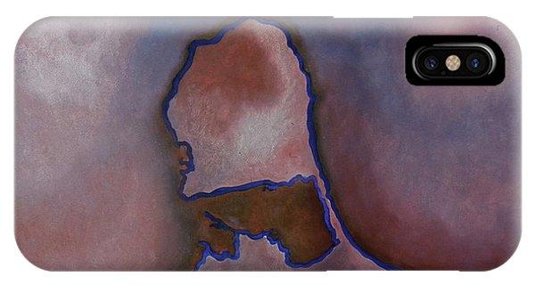 Silhouette In My Heart Phone Case by Fanny Diaz