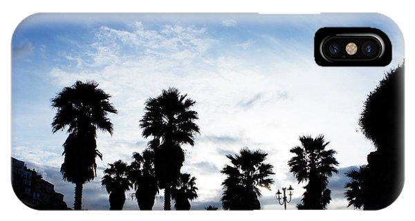 Silhouette In Tropea IPhone Case