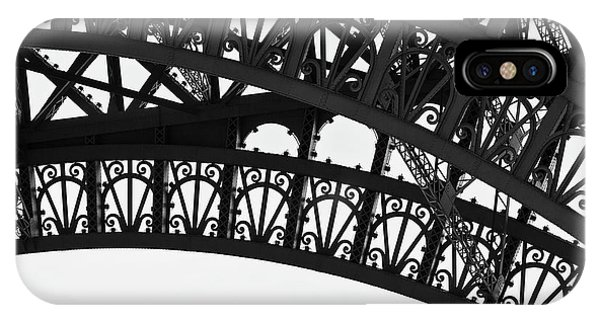 Silhouette - Paris, France IPhone Case