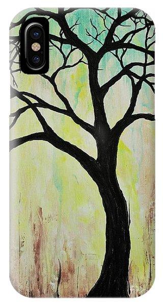 Silhouette Tree 2018 IPhone Case