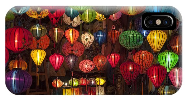 Silk Lanterns IPhone Case