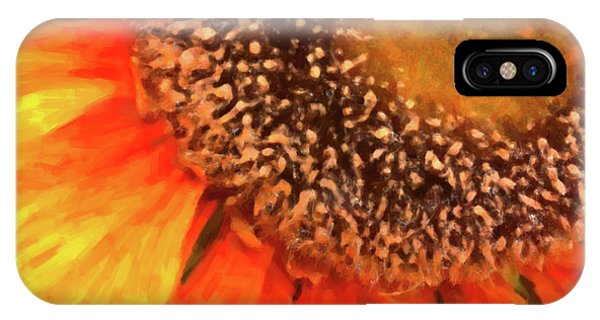 IPhone Case featuring the photograph Silk Sunflower by SR Green