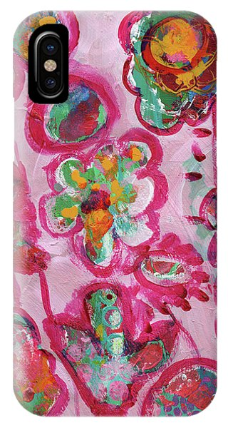 Silly Flowers IPhone Case