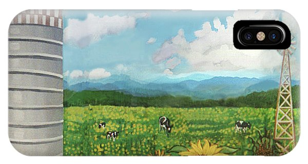 Silo Farm IPhone Case