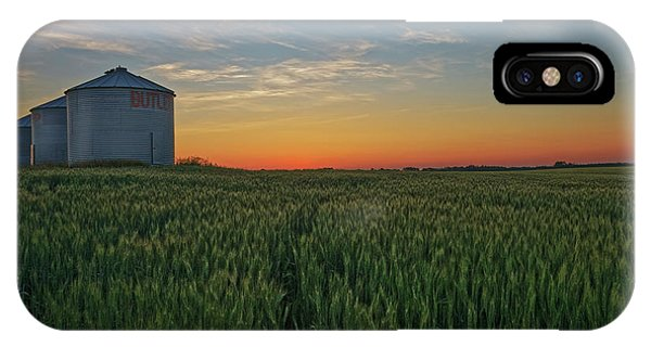 Silo iPhone Case - Silos At Sunset by Dan Jurak