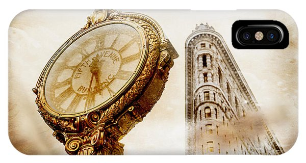 Architectural iPhone Case - Silver And Gold by Az Jackson