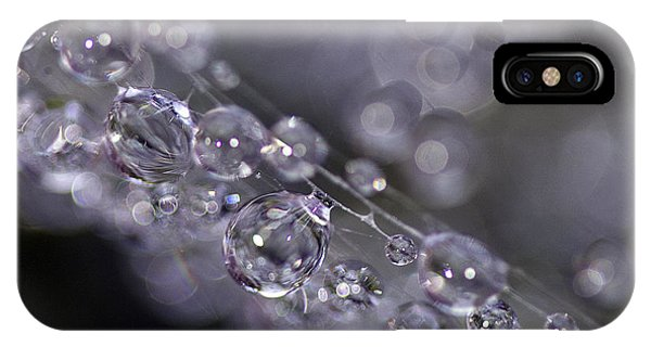 Silver Baubles IPhone Case