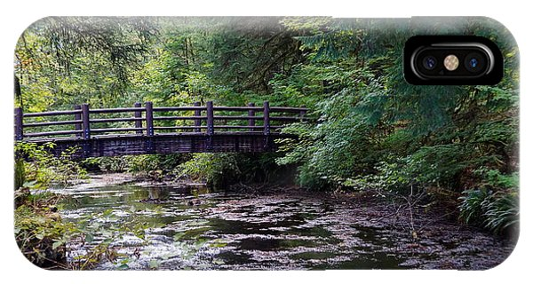 Silver Creek Falls #38 IPhone Case