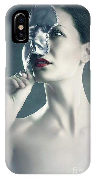 IPhone Case featuring the photograph Silver Face by Dimitar Hristov