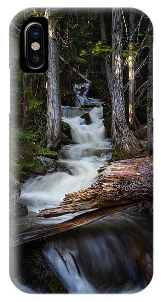 Silver Falls IPhone Case
