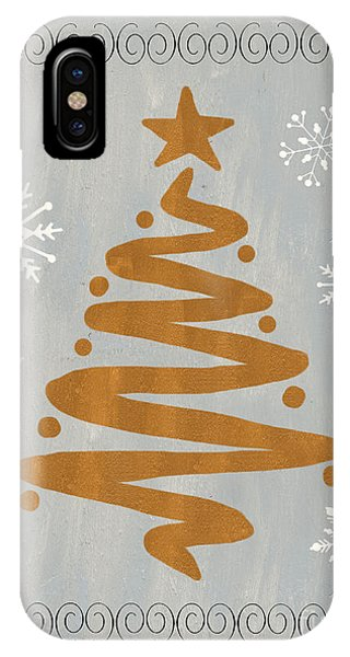 Silver Gold Tree IPhone Case