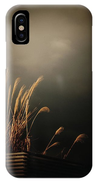 Silver Grass IPhone Case