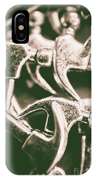 Small Business iPhone Case - Silver Hammers by Jorgo Photography - Wall Art Gallery
