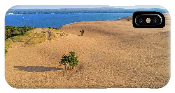 Silver Lake Dunes IPhone Case