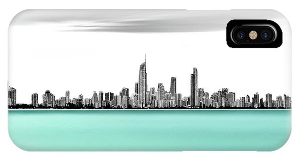 Qld iPhone Case - Silver Linings by Az Jackson