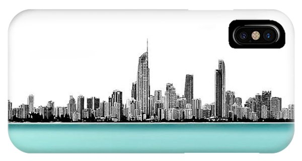 Qld iPhone Case - Silver Linings Panorama by Az Jackson