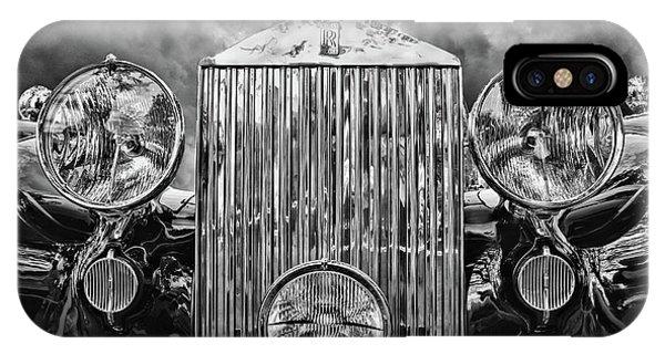 Silver Rolls Royce IPhone Case