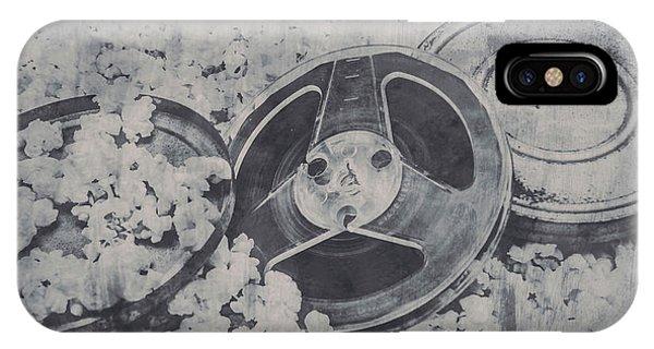 Monotone iPhone Case - Silver Screen Film Noir by Jorgo Photography - Wall Art Gallery