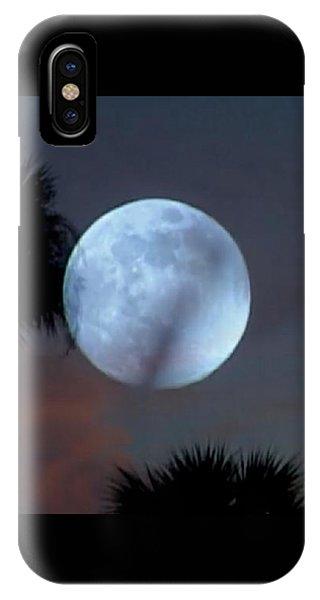 Silver Sky Ball IPhone Case