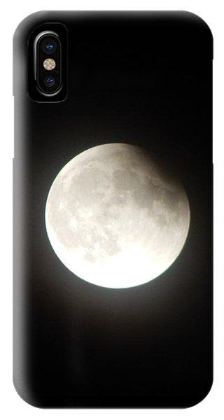 Silver White Eclipse IPhone Case