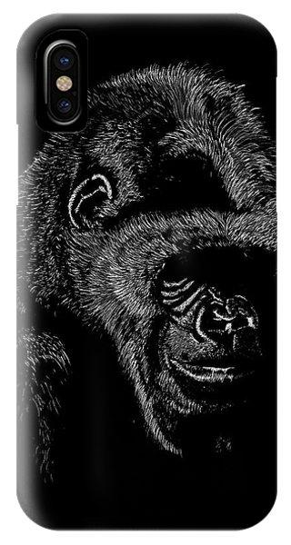 Silverback IPhone Case