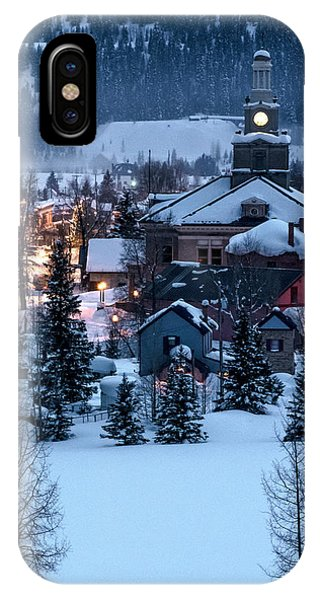 Silverton At Night IPhone Case