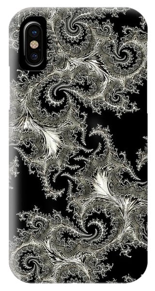 iPhone Case - Silvery Network by Amanda Moore