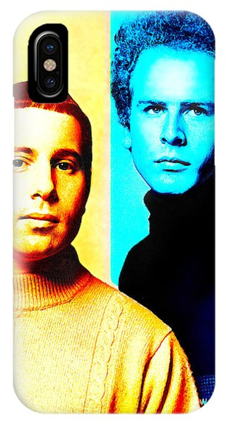 Simon And Garfunkel iPhone Case - Simon And Garfunkel by Mal Bray