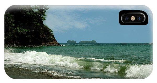 Simple Costa Rica Beach IPhone Case