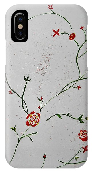 Simple Flowers #1 IPhone Case