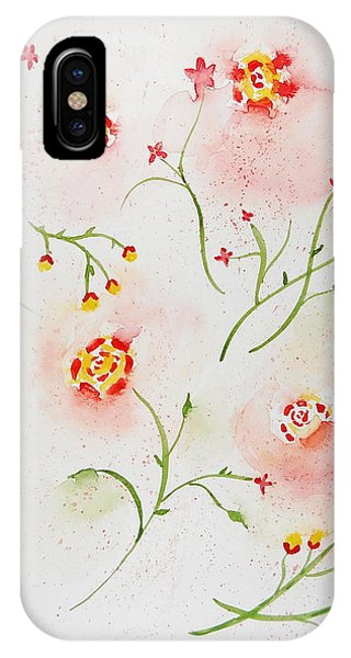 Simple Flowers #2 IPhone Case