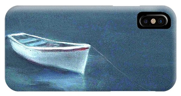 Simple Serenity - Lone Boat IPhone Case