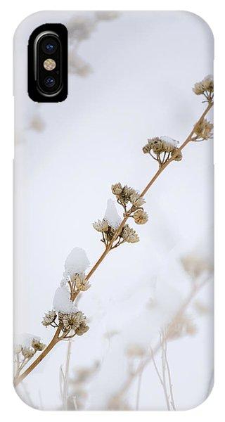 Simplicity Of Winter IPhone Case