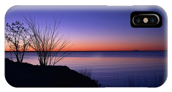 Simply Gentle Blue IPhone Case
