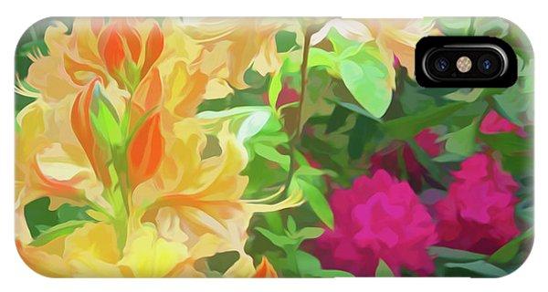 Simply Soft Orangeburst IPhone Case