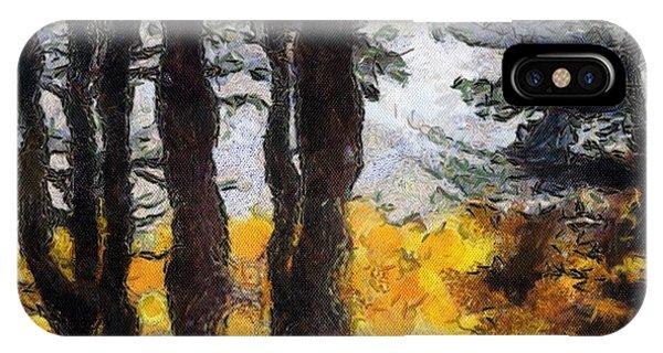 Simulated Van Gogh Scene IPhone Case