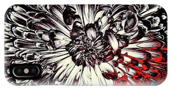 Close Up Floral iPhone Case - Sin City by Susan Maxwell Schmidt