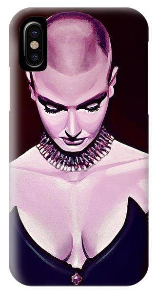 Cobra iPhone Case - Sinead O'connor by Paul Meijering