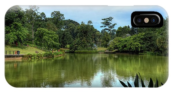 Singapore Botanical Gardens IPhone Case