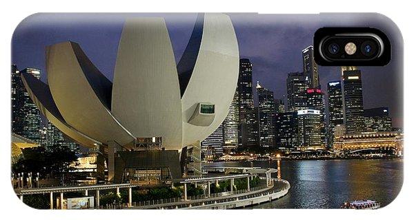 Singapore Harbor IPhone Case
