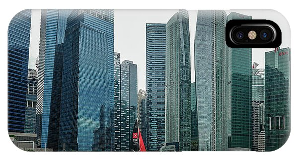 Singapore Harbour IPhone Case