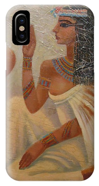 Singers Of Pharaoh IPhone Case