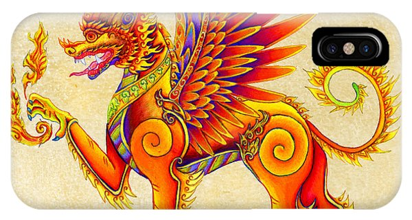 Singha Winged Lion IPhone Case