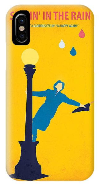 Good Humor iPhone Case - Singin' In The Rain by Fraulein Fisher