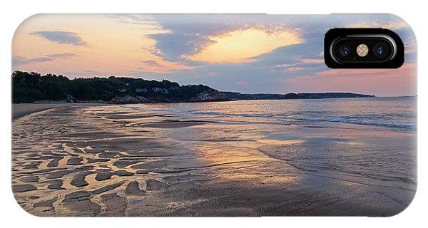 Singing Beach Sandy Beach Manchester By The Sea Ma Sunrise IPhone Case