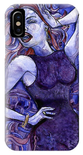Singing Lady- Jazz IPhone Case